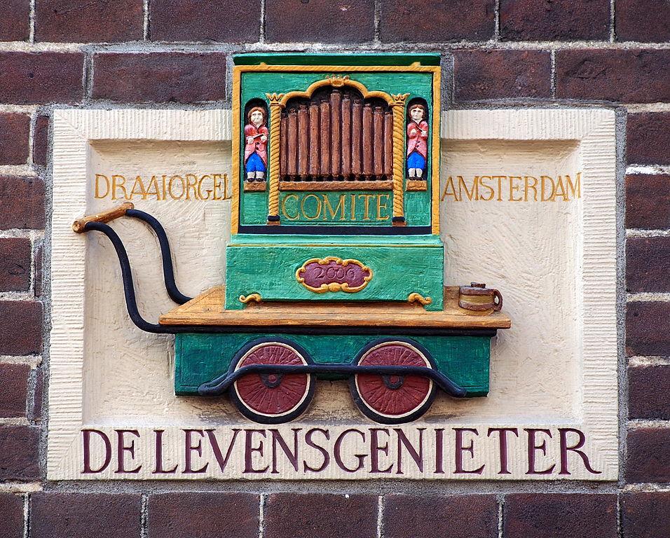 Pierre de façade à Amsterdam - Photo d' Alf van Beem