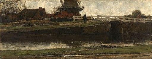 De afgesneden molen Rijksmuseum SK-A-2458