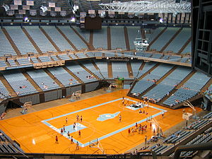 Dean Smith Center - Summer 2006