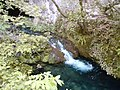 Degurić cave stream.JPG