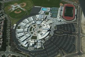 4S Ranch, California - Aerial photo of Del Norte High School