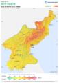 Democratic-Peoples-Republic-of-Korea DNI Solar-resource-map lang-KO GlobalSolarAtlas World-Bank-Esmap-Solargis.png
