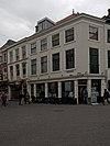 foto van Hoekpand op de Grote Markt, gevel met rechte kroonlijst