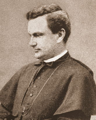 Denis J. O'Connell - A photograph of O'Connell taken during his tenure as rector of the American College (1885–1895)
