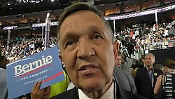 Dennis Kucinich at 2016 DNC