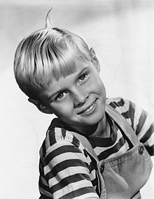 Description de l'image Dennis the Menace Jay North 1960.jpg.