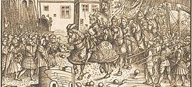 Aus dem Weißkunig Kaiser Maximilians I. (Quelle: Wikimedia)
