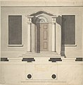 Design for a Doric Porch, Plan and Elevation MET DP806257.jpg
