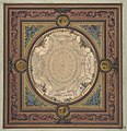 Design for the decoration of a ceiling with a trompe l'oeil painting of a coffered dome MET DP811572.jpg
