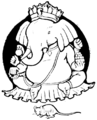 Design in front matter of Indian Fairy Tales (1892).png