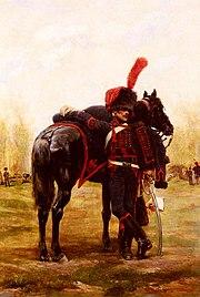 Detaille - Artillerie à cheval de la Garde Imperiale