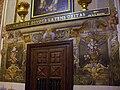 Detall del frescos laterals de l'església de Sant Nicolau de València.JPG