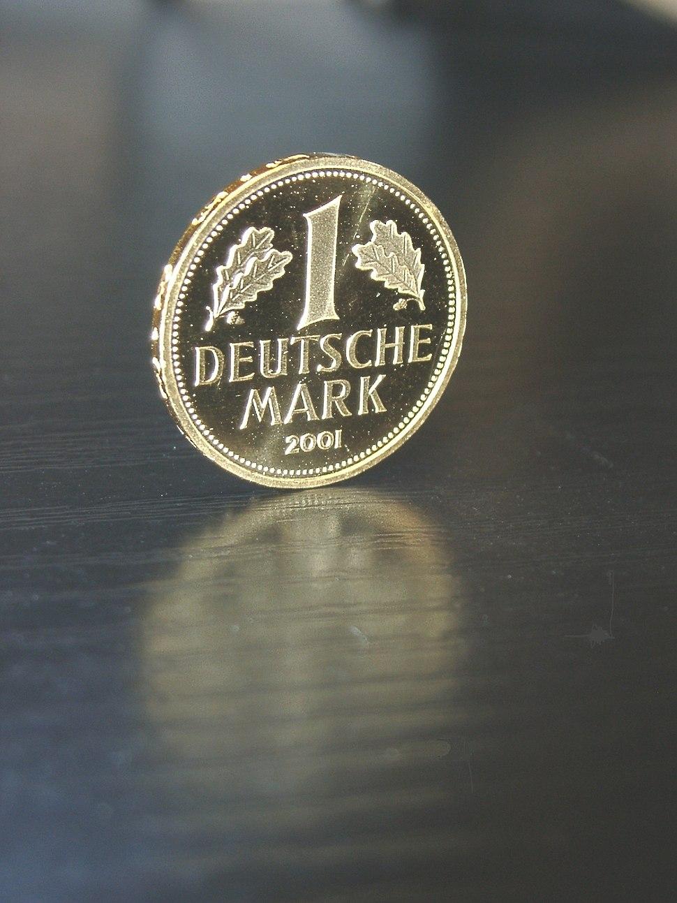 Deutsche Mark(Gold-2001)
