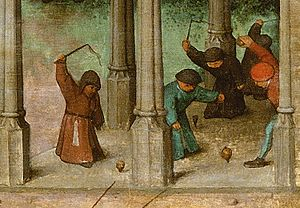 Top - Extract from Children's Games (1560)