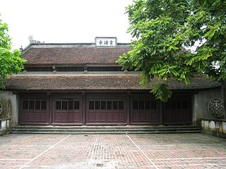 Từ Sơn Town in Red River Delta, Vietnam