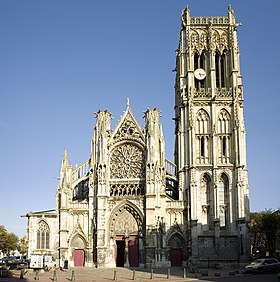 Image illustrative de l'article Église Saint-Jacques de Dieppe