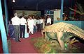 Dignitaries Watching Ankylosaurus - Dinosaurs Alive Exhibition - Science City - Calcutta 1995-06-15 027.JPG