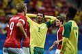 Dinamarca x África do Sul - Futebol masculino - Olimpíadas Rio 2016 (28835835705).jpg