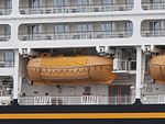 Disney Magic Lifeboat 21 Port of Tallinn 30 May 2017.jpg
