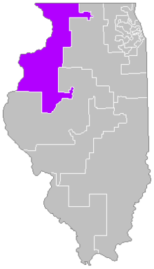 Description de l'image  Districts de l'Illinois (17).png.