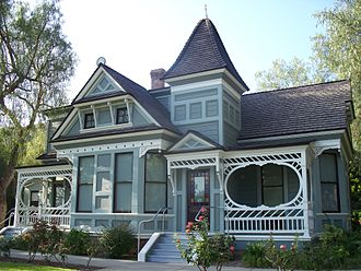 Eastlake Movement - An example of the Eastlake Style in Glendale, California.