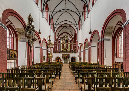 East nave of Brandenburg Cathedral St. Peter and Paul