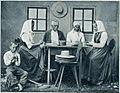 Domači obrti na Kranjskem - ihanski slamnikarji 1903.jpg