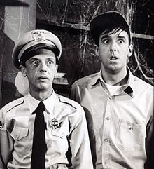 Don Knotts Jim Nabors Andy Griffith Show 1964.JPG