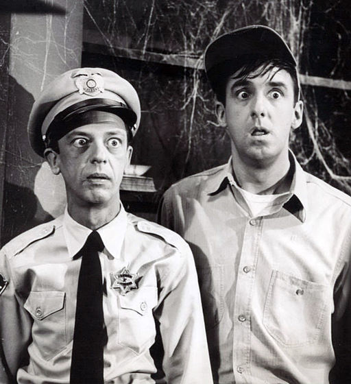 Don Knotts Jim Nabors Andy Griffith Show 1964