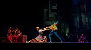 Performance - A stage performance of Don Quixote at the Teresa Carreño Cultural Complex in Venezuela (2013)