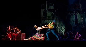 Don Quixote (ballet) - A performance of Don Quixote in Venezuela, 2013