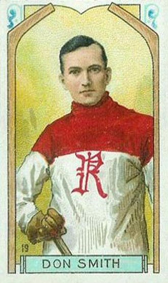 Don Smith (ice hockey, born 1887) - Don Smith with the Renfrew Creamery Kings