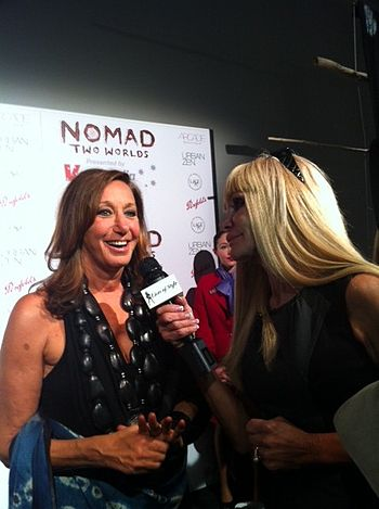 English: Interview with Donna Karan, fashion d...