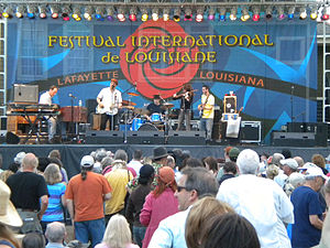 Donna the Buffalo - At the Festival International 2010 in Lafayette, Louisiana