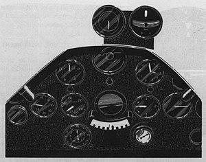 Low-frequency radio range - Doolittle's instrument panel