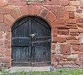 Door at Rue du Porche in Clairvaux-d'Aveyron 06.jpg