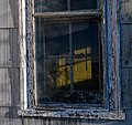 Door through window on north side of farmhouse at Kelvin A. Lewis farm in Creeds 2.jpg