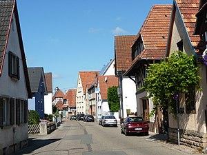 Impflingen - Image: Dorfstrasse Impflingen