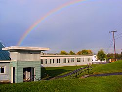 Double Rainbow over Limestone Maine August 2011.jpg