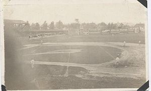 1920 Rock Island Independents season - Douglas Park, home of the Independents, circa 1920