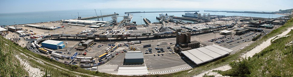 Dover Harbour panorama
