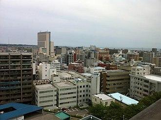 Tsu, Mie - Image: Down Town of Tsu City