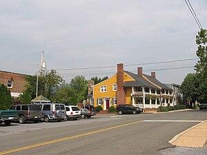 Washington, Virginia - Central intersection in Washington