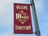 Downtown Minden welcome sign IMG 3742