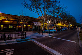 Tracy, California - Downtown Tracy