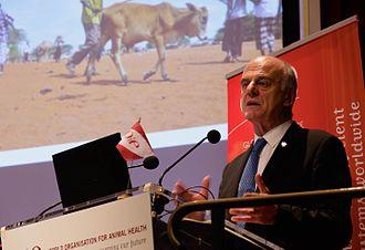David Nabarro - Dr. David Nabarro speaks at World Organisation for Animal Health