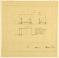 Drawing, Andirons, Entrance Hall Fireplace, Henry J. Allen Residence, Wichita, Kansas, 1917 (CH 18800285-2).jpg