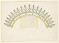 Drawing, Design for a Comb, ca. 1830 (CH 18551573).jpg