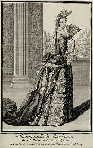 Béatrice Hiéronyme de Lorraine - Image: Drawing of Béatrice Hiéronyme de Lorraine, Mademoiselle de Lillebonne