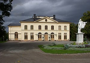 Drottningholm Palace Theatre - Theatre exterior